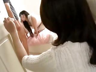 Spying on milfs Japanese milf masturbates spying on daugh