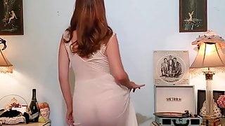 Sheer White Vintage Dress