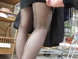 James tobins q ratio indicates horrific stock market bottom Touching her legs in a seamed fishnet stockings in market