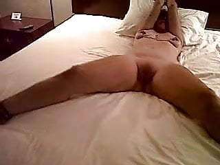 Bed bdsm Wife tied to the bed