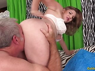 Hot mature sex video free - Super hot mature sex with charming granny jade blissette