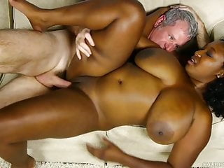 Beautiful Big Tits Black Bbw Banged And Blasted With Cum