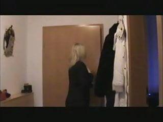 Blonde fucks her boyfriend Nice german blonde calls her boyfriend for fucking