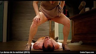 Pamela Flores nude frontal and naughty movie scenes