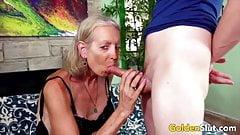 Golden Slut - Older Lady Blowjob Compilation Part 3