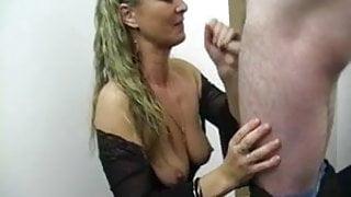 Surprised Facial for British BJ slut pornstar Natalie K