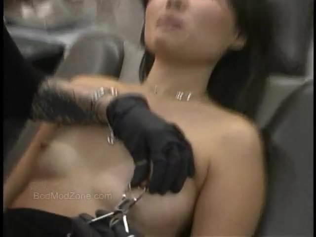 Blonde Pierced Nipples Fucked