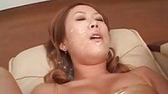 Kasumi Yumane  Japanese bukkake - UNCENSORED