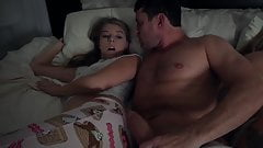It's time for daddy and he fucks his scared stepdaughter