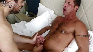 Nipple and pec worship with Nick Capra