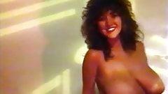 Vintage 80's British big tits strip dance