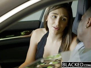 Blowjob brunette - Blacked big booty girl abella danger worships big black cock