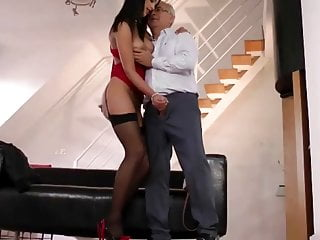 Jim slip uk street slut Younger slut sucking to old man