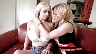 Amazing Beautiful Blonde Lesbian Roulettes