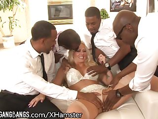 Holly landers free gangbang - Holly heart picked up and gangbanged by bbcs