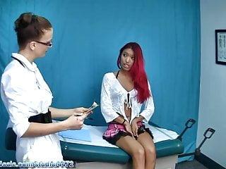 Women getting gyn exam xxx Young asia gets an exam