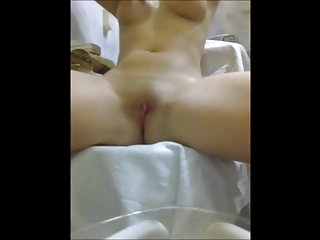 Blonde girls with nice boobs - Teen with nice boobs masturbating to orgasm