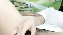 Vietnamese girl masturbate on webcam