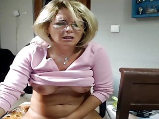 What sex is the best Blonde mature doing what she does best