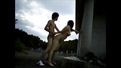 Jap Couple Outdoor Fuck (p2)