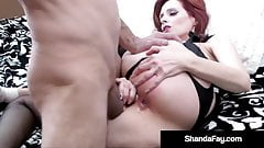 Hot Housewife Shanda Fay Gets Ass Packed By Hard Cock Hubby!
