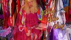 Shiny Satin Sissy 4k