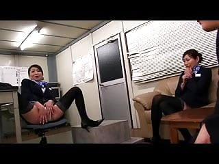 Cabin attendent nude - Japanese married cabin attendant