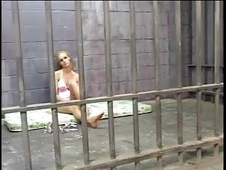 Recidism for teens in prison Young hot blonde prisoner sucks the jizz from two dicks in her cell