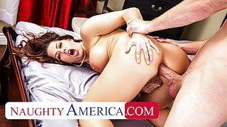 Naughty America, Holly Heart gets her pipes filled