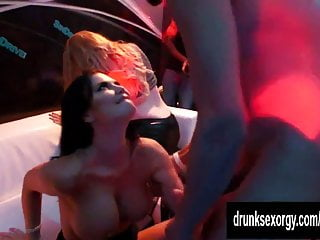 Sexual objectification fuck - Sexual pornstars fucking hard in the public in a club