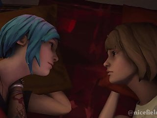 Strange pussy insertions tube Life is strange - the first kiss max x chloe sfm animation