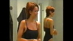 Claire Sweeney Black Underwear NN