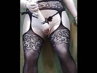 Garters and pantyhose Garters and pearls