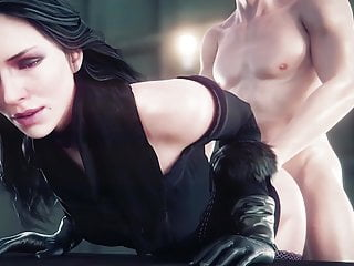 The witcher mods nude Yennefer doggystyle fucked the witcher 3