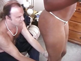 Fingering pussy older - Older white dude drills young black babe