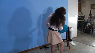 Gagged Chair-Belted Ronni Abused July 2021