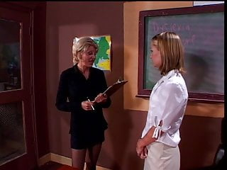 Lesbian her bangs - Sexy teacher bangs student