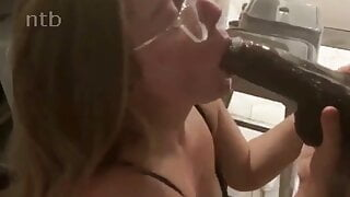 Blonde Wife gets Gets Intimate With Her Endowed Black Lover