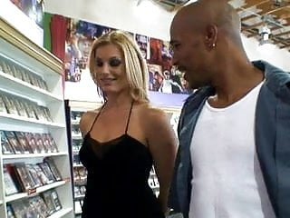 Stores for pornstar accessories Hot milf at the video store