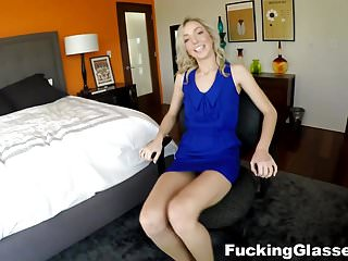 Fresh fuck Fucking glasses - great fuck with a fresh blonde