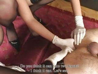 Girls fucking shemale - Two girls fucking and fisting guy 1 2 of 2