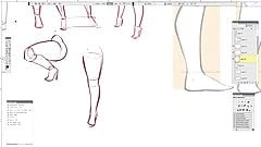 How to DRAW SEXY FEMALE LEGS!