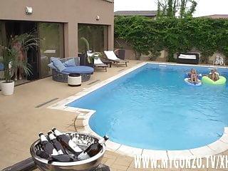 Free hord core milf - Pool orgy with kitty core, lana vegas, rosalina love more