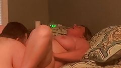 Eating Some Hairy Milf Pussy
