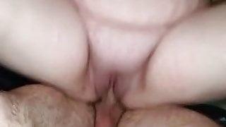 Cousin fucks my bbw wife (cuckold ) NUT!!!
