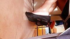 flats shoeplay Marta Black Flats shoeplay Day 4 Part 2 1080p