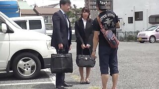 Monitoring Colleagues - Onsen Bath with New Female Employees