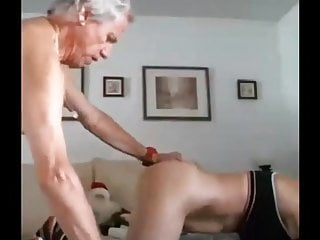 Gray hair pussy pics Gray haired daddy pounds his wifes pussy hard amateur sex