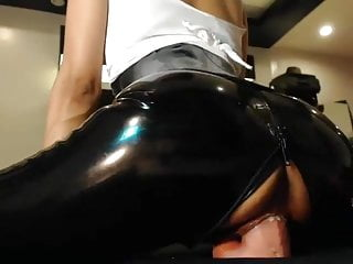 Big booty fucking hub - Latex booty fucking toy