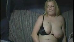 Fat Chubby Tourist so horny she has to masturbate in taxi-5